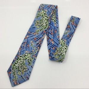 Ed Hardy by Christian Audigier mens silk tie